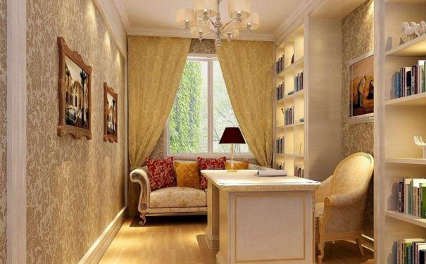 厦门欧式书房如何设计 欧式书房的装修要点