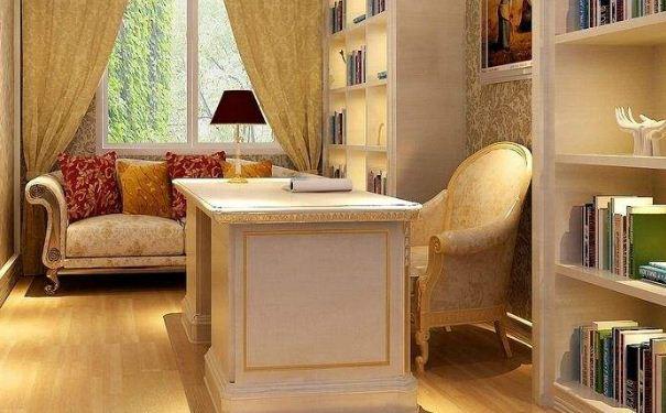 欧式小书房如何装修设计 欧式小书房装修设计技巧