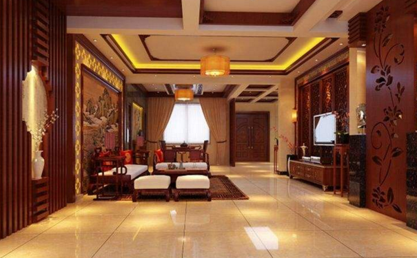 武汉中式客厅吊顶怎么设计 中式客厅吊顶装修设计