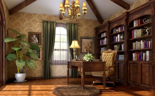 无锡中式书房怎么设计 中式书房设计技巧