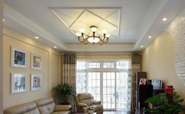 上海客厅装修吊顶怎么设计好 精美的客厅吊顶设计