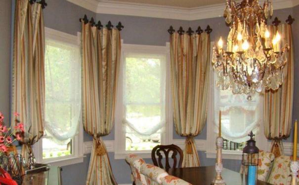 上海室内装饰窗帘哪种好 精美的窗帘设计