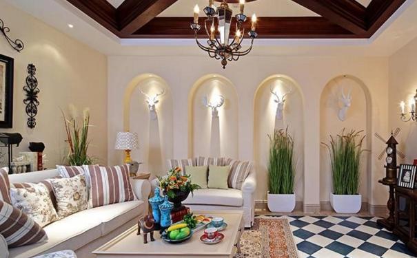 珠海美式田园客厅怎么设计 美式田园客厅设计技巧