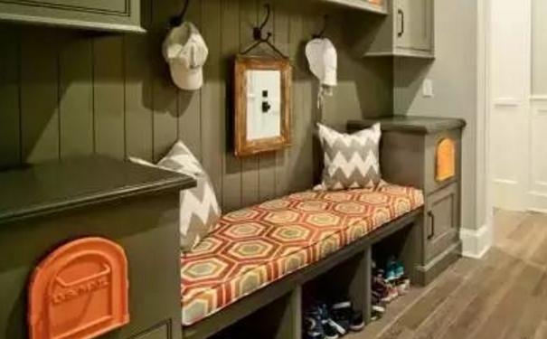 泉州玄关这样装修 精致的入户鞋柜设计